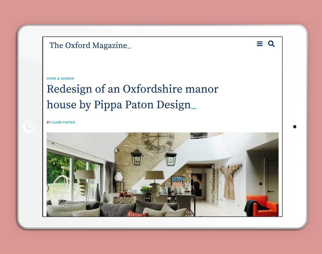 The Oxford Magazine WordPress Bespoke Theme Development by Oxford Digital