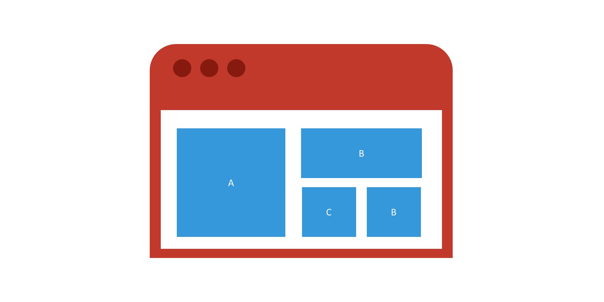 Visual hierarchy in website design image 1
