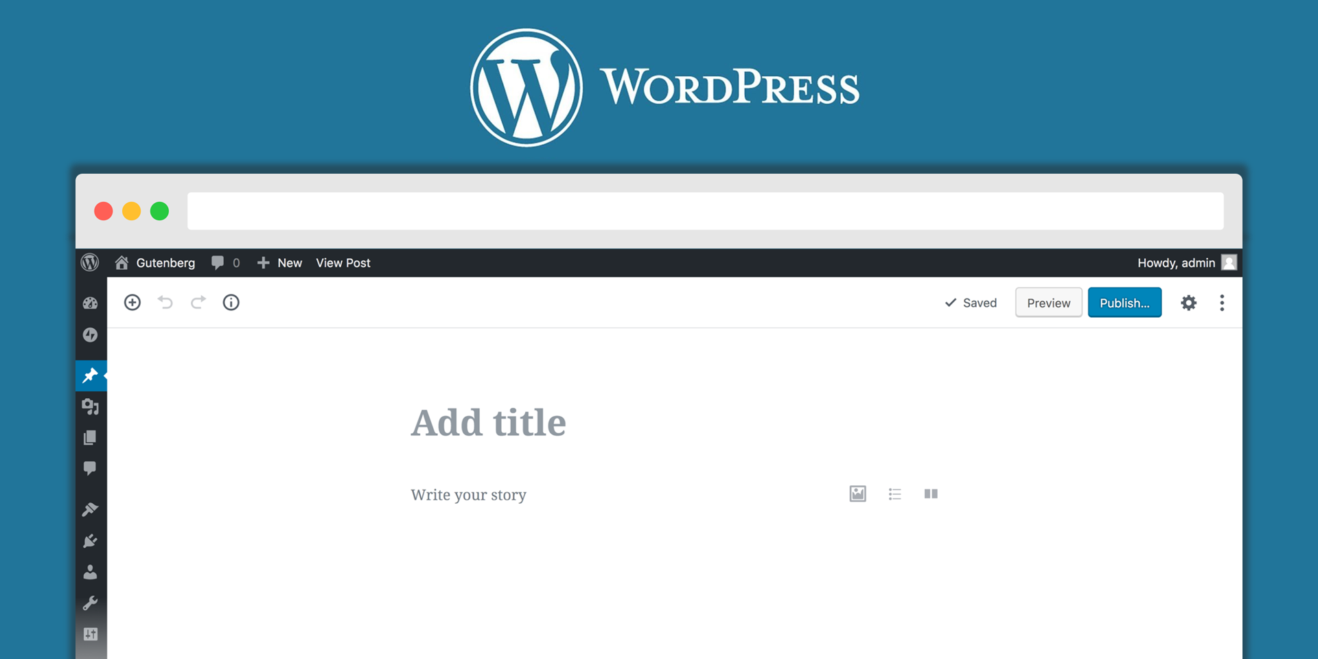 WordPress 5.0 with Gutenberg to be released on 19 Nov 2018